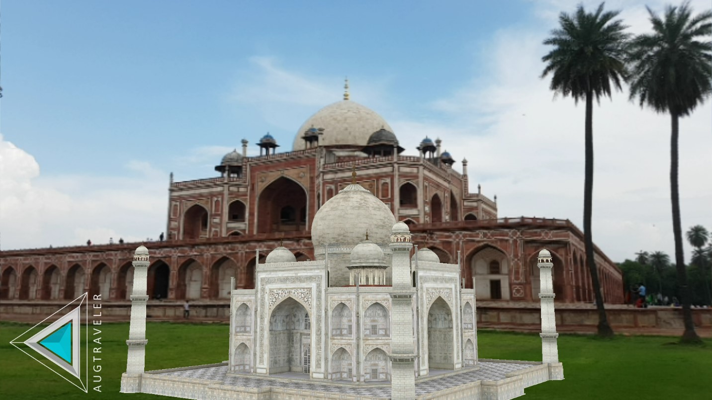 Augtraveler; Humayun's Tomb; Aga Khan Trust for Culture, Augmented Reality, UNESCO World Heritage Site, Sundar Nursery, Incredible India, Delhi Tourism